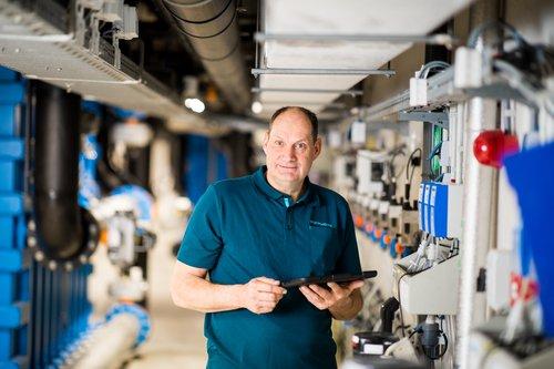 Over ons Marcel Sleurink, technische dienst
