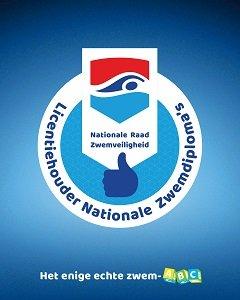 Licenties Nationale zwemdiploma's