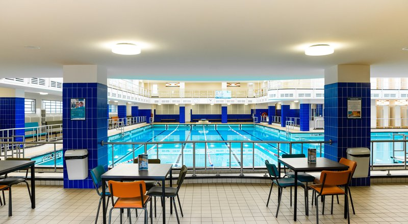 Faciliteiten Oostelijk Zwembad